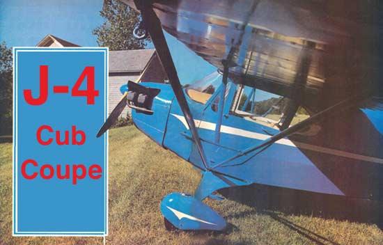 J-4 Cub Coupe Pilot Report