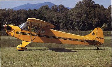 Piper Cub Comparison