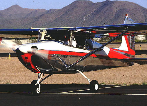 PIREP-Square Tail Cessna Hawk