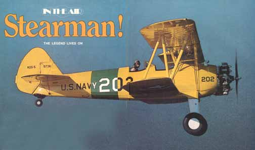 Stearman PT-17, N2S Pilot Report