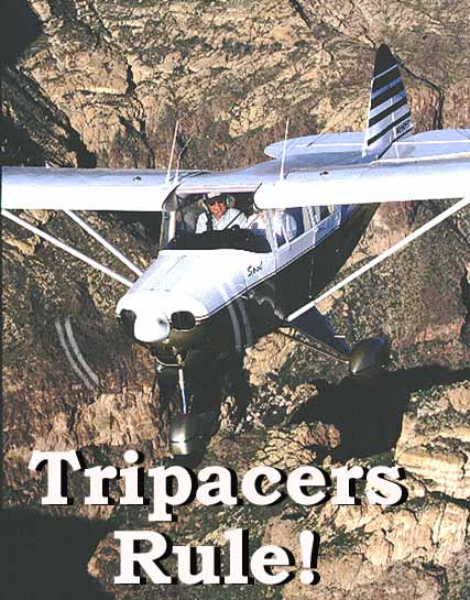 Piper Tripacer, PA-22 Pilot Report and Photography